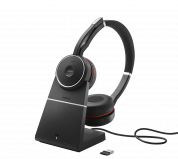 Jabra Evolve 75 Stereo MS, Charging stand & Link 370 7599-832-199